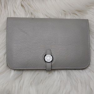 51d72dfb088d Hermes Dogon Duo Combined Wallet Leather